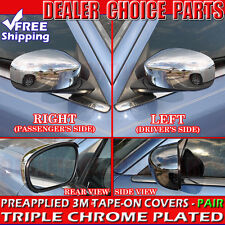 2005-2010 Chrysler 300 300C Chrome Mirror COVERS Trims for Non-Painted Mirrors