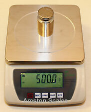 6000 x 0.1 GRAM DIGITAL SCALE BALANCE ANALYTICAL LAB TOP LOADER COUNTING - NEW