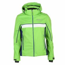 Nevica Kiara Ski Jacket Coat Detachable Hood Green Purple Size 12 UK  £129.99