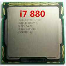 Intel Core i7-880 3.06GHz / 8MB Socket LGA1156 SLBPS Processor CPU
