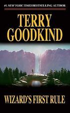 WIZARD'S FIRST RULE Sword of Truth Book 1 by Terry Goodkind the FREE SHIPPING