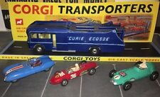 CORGI MAJOR TOYS GIFT SET 16 ECURIE ECOSSE Complete Original & Display Plinth