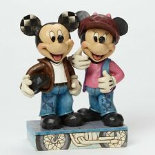 Jim Shore - Biking Sweethearts - Mickey and Minnie Figurine