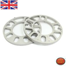 2PCS Aluminum Alloy 4 and 5 Lug 10mm Thickness Wheel Spacer for Car KL