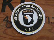"SNAKE PATCH "" 101st AIRBORNE "" PVC parachutiste D-DAY US ARMY WW2 normandy USA"