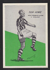 Master Vending - Cardmaster Football Tips 1958 - # 35 How - West Bromwich Albion