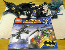 LEGO, SUPER HEROES, BATWING BATTLE OVER GOTHAM CITY(6863). WITH  MANUAL . (6348)