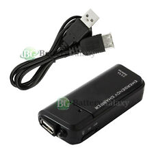 AA Charger+USB Extend Cable for for Samsung Galaxy S 3 4 S3 S4 Mini Note 1 2 3