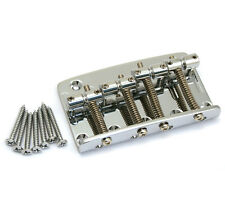 Gotoh 203 4-string Chrome Bass Bridge for Fender P/Jazz® 5-hole Top Load