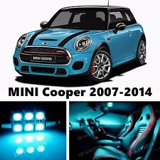 12pcs LED ICE Blue Light Interior Package Kit for MINI Cooper 2007-2014