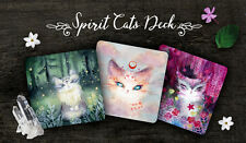 Spirit Cats Inspirational 48 Card Deck Tarot Oracle Self Published Nicole Piar