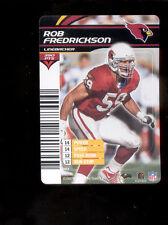 2003 NFL Showdown ROB FREDRICKSON Arizona Cardinals Rare Card