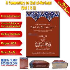 A Commentary on Zad al-Mustaqni' (Vol 1 & 2) by Shaykh Fawzan Islamic Book