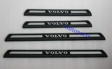 Door sill scuff plate black For VOLVO XC60 2010 2011 2012 2013