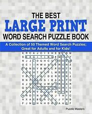 The Best Large Print Word Search Puzzle Bks.: The Best Large Print Word...