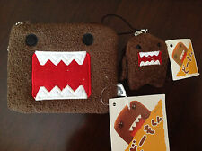 ❤Cute Domo Kun Multi-use Coin Bag and get a Domo Phone Strap for FREE❤