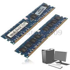 2Gb (2x1GB) DDR2-667 Mhz Pc2-5300 Memoria Memory Dimm Ram 240-P Pc Escritorio