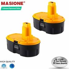 2Pcs 18 Volt Battery Pack For DeWALT DC9096-2 DW9095 18V XRP NI-CD Battery