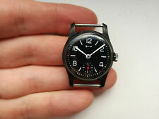 Rare Collectible USSR RUSSIAN WATCH ZIM 2602 POBEDA MILITARY BLACK WHITE RED