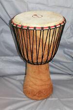 SET mit Tasche: Große Profi-Djembe Drum Trommel aus Ghana 55 cm für Profis NEU