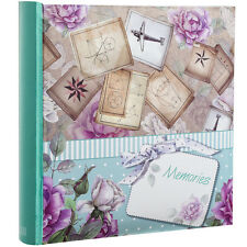 Large Memories Memo Slip In Case Photo Album For 200 Photos 4''x6''