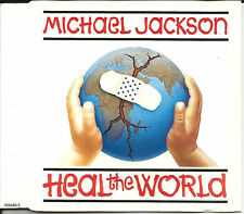 MICHAEL JACKSON Prelude / heal the world 7 INCH EDIT Europe CD USA Seller SEALED