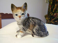 GATTO IN PORCELLANA INGLESE  - Porcelain cat
