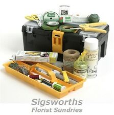 PROFESSIONAL OASIS FLORIST TOOL BOX KIT Floristry Floral Tools Scissors 7807
