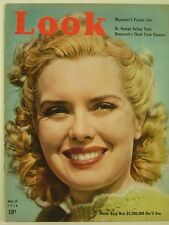 1939 Look Magazine: Brenda Joyce/College Football/Mussolini Private Life