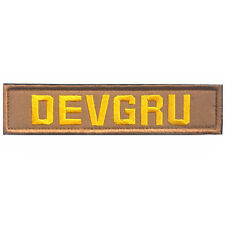DEVGRU TACTICAL MILITARY OPS SWAT USA ARMY TACTICAL EMBROIDERED VELCRO PATCH