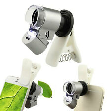Clip-on 65x Optical Zoom HD Telescope Camera Lens For Universal Mobile Phone
