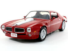 AUTOWORLD AMM998 1972 72 PONTIAC FIREBIRD TRANS AM 1/18 DIECAST RED