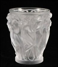 LAST CALL! BEFORE IT GOES!!! $5950+TX! BEAUTIFUL LALIQUE BACCHANTES WOMEN VASE!!
