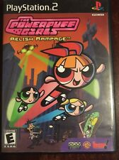 PlayStation 2 The Powerpuff Girls Relish Rampage Video Game Rated E Everyone PS2