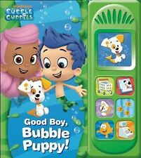 Bubble Guppies Good Boy, Bubble Puppy Play-A-Sound (2013, Board Book)