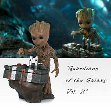 "Guardians of The Galaxy Vol. 2 Baby Groot 7"" Figure Movie Scene Collectable Gift"
