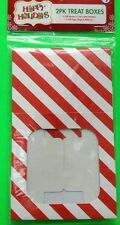 'HAPPY HOLIDAYS' 2PK TREAT BOXES (2 GIFT BOXES & CUP CAKE HOLDERS, 2 TAGS, ETC)