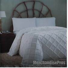 COUNTRY LIVING WOODBURY FULL SIZE BEDSPREAD ECRU COLOR NEW!