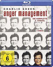 2 Blu-rays *  ANGER MANAGEMENT - STAFFEL 2 - Charlie Sheen  # NEU OVP $