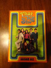 That 70's Show Season Six 6 (4 Disc DVD Set, 2007)