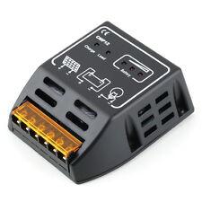 Solar Panel Charger Controller Regulator 10A 12V/24V, Auto Switch CE TSR Safe TK