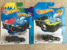 HOT WHEELS MAZDA RX-7 24/seven Color Shifters Set of 2 SAVANNA JDM DRIFT ROTARY