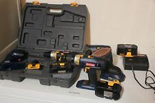 Ryobi Cordless Tool Collection - Drill Sander and More