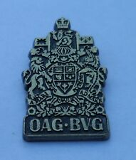 Pin Office of the Auditor General of Canada OAG Kanada
