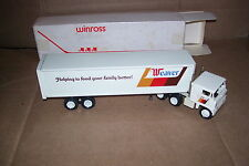 1977 Weaver Country Style Chicken Winross Diecast Trailer Truck  Plastic Dolly