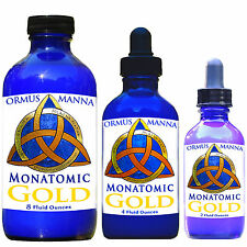 ORMUS MANNA ॐ Monatomic Gold POTENT ENERGY Enhancer Anti-Aging Supplement, 2 oz