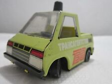 VINTAGE TIN TOY CAR PICK UP SOVIET RUSSIA USSR CCCP AEROFLOT COMMUNIST ERA