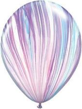 "Superagate Pastello Marmorizzato Lattice 11"" Palloncini x 5"