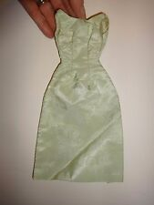 Vintage Tammy Size Light Green Brocade Formal Dress Gown