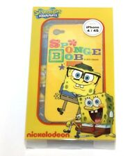 For iPHONE 4 4S - SPONGEBOB SQAUREPANTS HARD PROTECTOR SKIN CASE COVER YELLOW